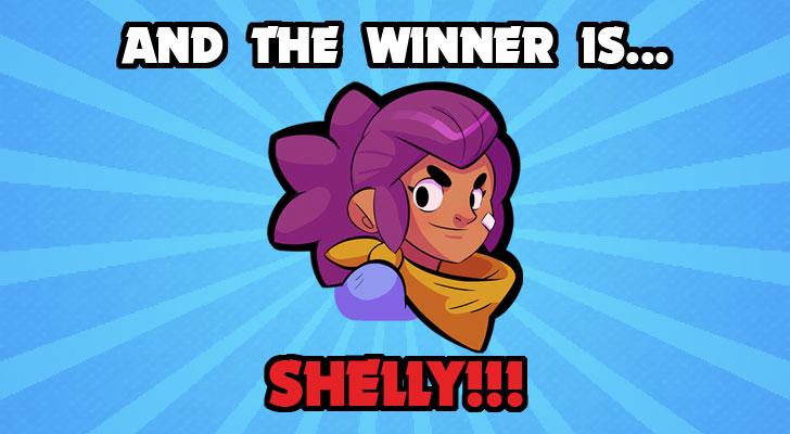 shelly is the best beginner brawler