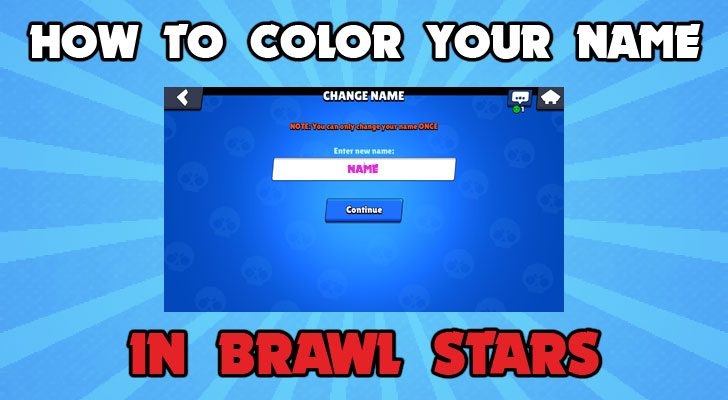 how to color your name in brawl stars