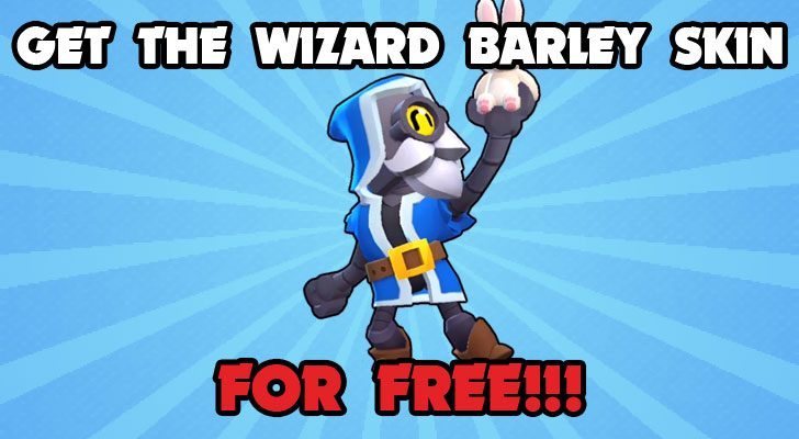 how to get the wizard barley skin for free