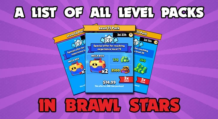 A list of all the level packs in brawl stars