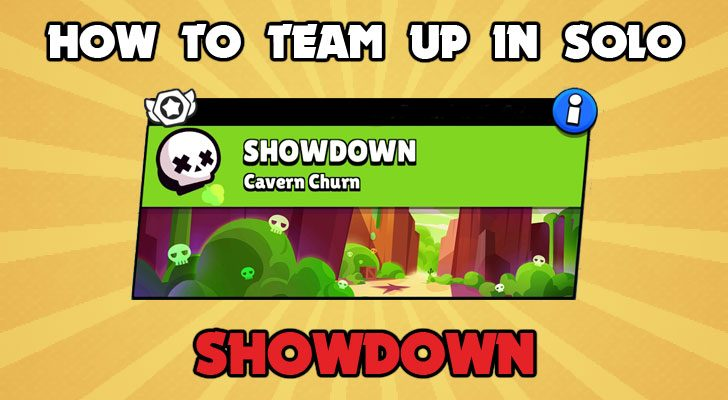 how to team up in solo showdown in brawl stars